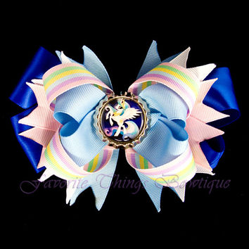 My Little Pony Princess Celestia Hair Bow with Bottle Cap