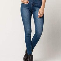 SKY AND SPARROW High Waisted Womens Skinny Jeans