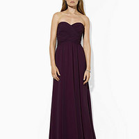Lauren by Ralph Lauren Dress, Strapless Evening Gown - Juniors Dresses - Macy's