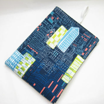 Blue Diaper Mat, Modern Baby Changing Mat, Baby Shower Gift Idea