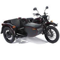 The Allied Victory Sidecar Motorcycle - Hammacher Schlemmer