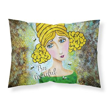 Bee Grateful Girl with Beehive Fabric Standard Pillowcase VHA3008PILLOWCASE