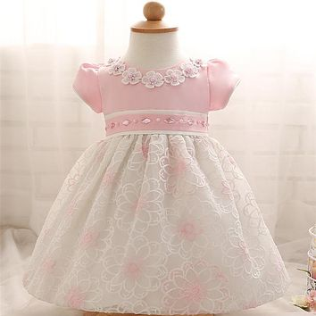 Toddler Baby Girl Dress Brithday Clothing Vestido Fairy Princess Costume Chothes Robe Fille Wedding Gown For Little Children