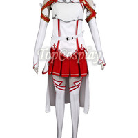 New Hand Made Sword Art Online SAO Women's Cosplay Asuna Yuki polyester Full set Custom-made