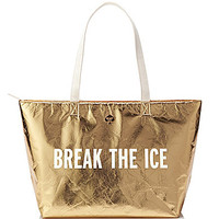 kate spade new york Break the Ice Cooler Bag - Gold