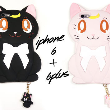 Sailor Moon Luna Phone Case - iPhone 6 & 6s, 6 Plus & 6s Plus