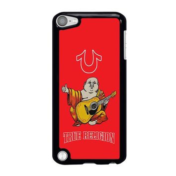 RED BIG BUDDHA TRUE RELIGION iPod Touch 5 Case Cover