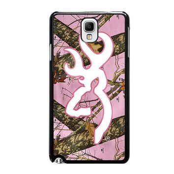 CAMO BROWNING PINK Samsung Galaxy Note 3 Case Cover