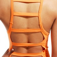 Ladder Back Jersey Bodysuit