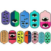 REAL EYES NAIL WRAPS