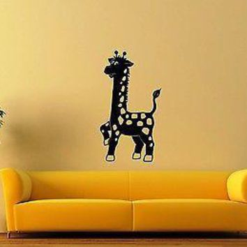 Wall Stickers Vinyl Decal For Kids Giraffe Nursery Animal Unique Gift ig1355