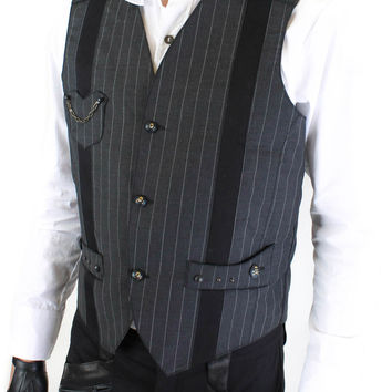 Steam Trunk Manchester Vest Single Breasted