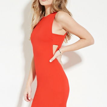 Side-Cutout Dress | Forever 21 - 2000169622