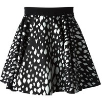 Fausto Puglisi animal print full skirt
