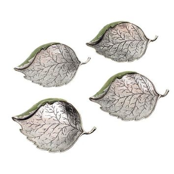 Small Leaf Dish Set by Quest, Serving Pieces Size: 3x2