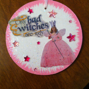 Wizard of Oz (Glenda the Good Witch) Christmas ornament or gift tag