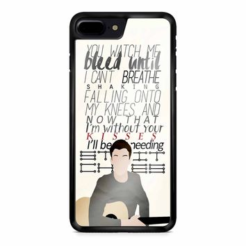 Shawn Mendes Lyrics 1 iPhone 8 Plus Case