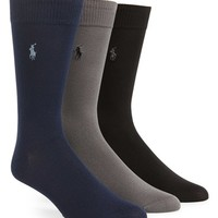 Men's Polo Ralph Lauren Socks (3-Pack) (Online Only)