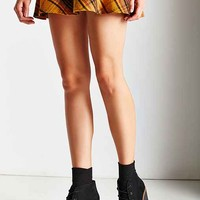 Platform Lace-Up Ankle Boot