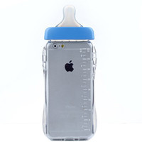 BLUE BABY BOTTLE IPHONE CASE