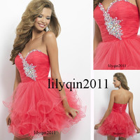 Homecoming Dresses Sweetheart beaded Fashion Short Cocktail Prom Party Dress