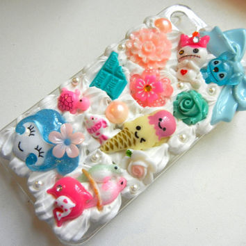 Hawaiian Stich Kawaii Decoden Whipped Cream Iphone by StyleRaiders