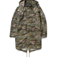 Givenchy - Camouflage-Print Hooded Parka | MR PORTER