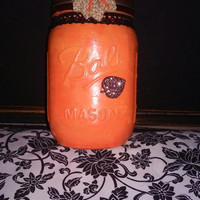Fall Mason Jar Decor