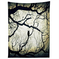 Shannon Clark Mysterious Woods Tapestry