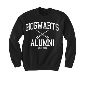 SALE!!!! Harry Potter themed Hogwarts Alumni Sweater