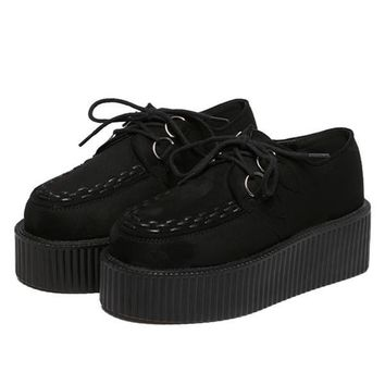 Solid Black Creepers