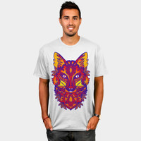 Colorful Artistic Fox T Shirt By Ppanda Design By Humans