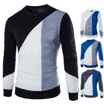 Mens Slim Sail Casual Sweater