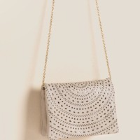 Brielle Perforated Clutch
