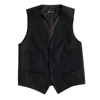 J.Crew Mens Ludlow Suit Vest In Italian Wool