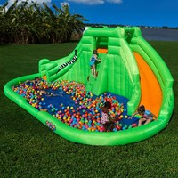 Blast Zone Crocodile Isle Interactive Water Inflatable | www.hayneedle.com