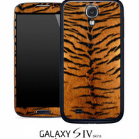 Tiger Print Skin for the Samsung Galaxy S4, S3, S2, Galaxy Note 1 or 2
