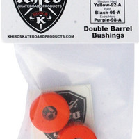 Khiro Double Barrel Bushing Set 79A M-Soft Orange