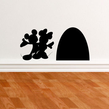 Mice and Mouse Hole wall decal