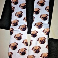 SWEET LORD O'MIGHTY! PUG SOCKS
