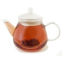 Stovetop Safe Glass Teapot Water Boiler Kettle with Infuser