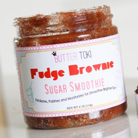 Fudge Brownie Scented Sugar Smoothies Body Scrub 4oz
