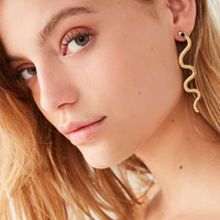 Snake Statement Earring | Urban Outfitters