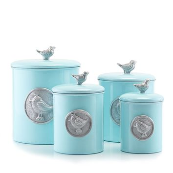 """Lauren Blue Bird"" Pantryware Collection by Old Dutch International"