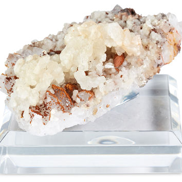 "2"" Quartz on Base, Beige, Acrylic / Lucite, Rocks, Crystals, Minerals & Petrified Wood"