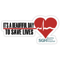 Grey's Anatomy - It's a Beautiful Day to Save Lives by markmuscatworks