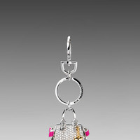 Juicy Couture Daydreamer Key Fob in Silver from REVOLVEclothing.com