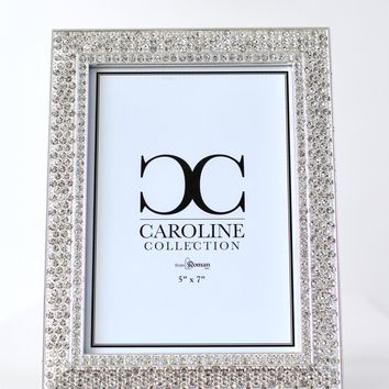 Thick Rhinestone Trim Picture Frame