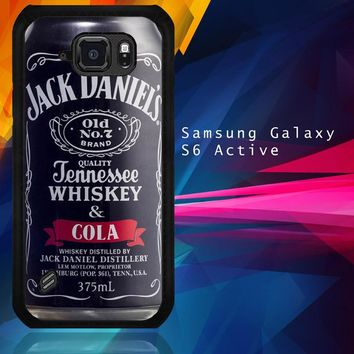 Jack Daniel'S Can R0020 Samsung Galaxy S6 Active  Case