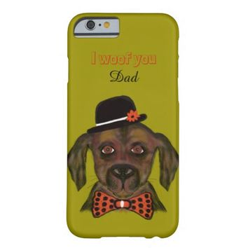 I woof you barely there iPhone 6 case